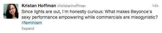 beyonce superbowl tweet
